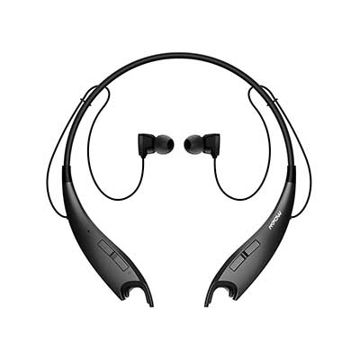 Mpow Jaws V4.1 Bluetooth Wireless Stereo Headset, Noise Cancelling Mic