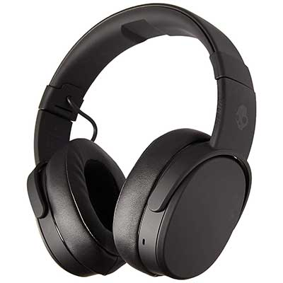 Skullcandy Bluetooth Wireless Over-Ear Headphone with Memory Foam Padding