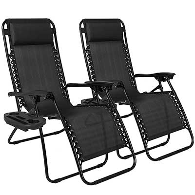 Best Choice Products Adjustable Zero Gravity Lounge Chair Recliners