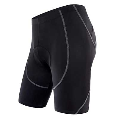 Sportneer Men's 4D Coolmax Padded Bike Pants Tights Breathable and Absorbent