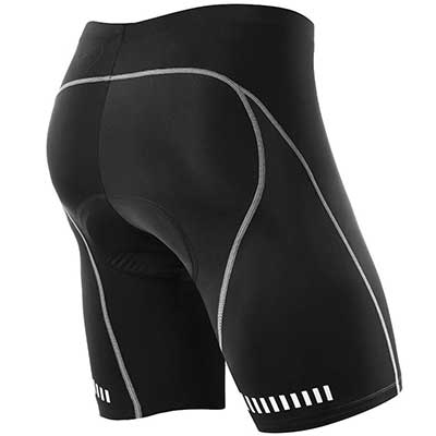 NOOYME Men's Cycling 3D Gel Padded Bicycle Riding Men's Bike Shorts