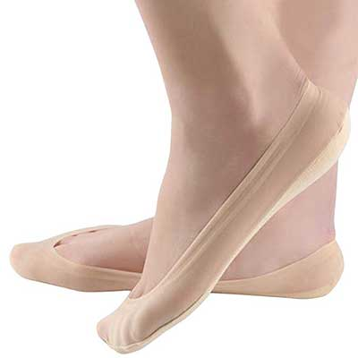 Jarseen Women's No Show Low Cut Cotton Nylon Boat Invisible Socks