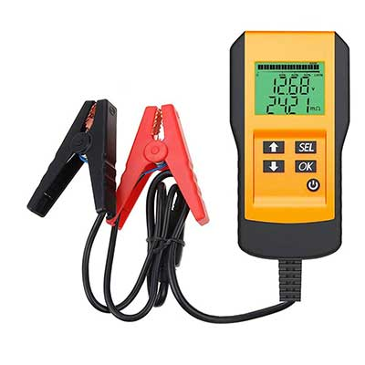 LEYUTUEE Digital 12V Car Battery Tester Automotive Battery Load Tester and Analyzer