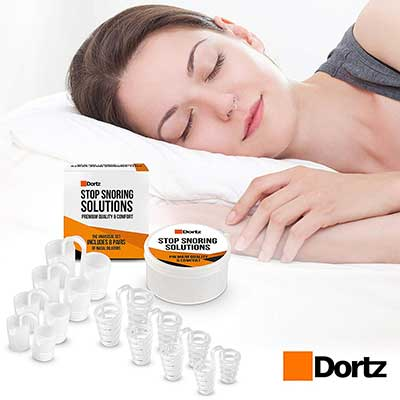 Dortz Anti Snoring Devices Snore Stopper Set Anti Snoring Solutions for Men and Women