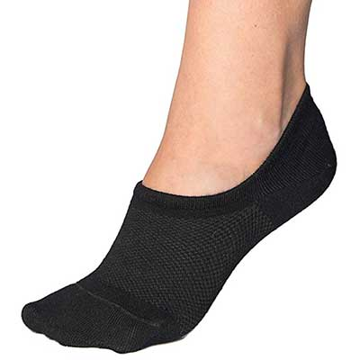 Bam&bü Premium Bamboo No Show Casual Socks for Women