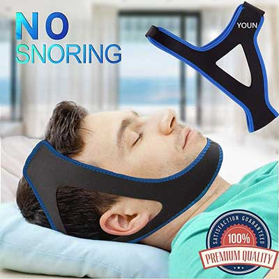 YOUN Chin Strap Snoring Solution Anti Snore Device Sleep Aid for Men and Women