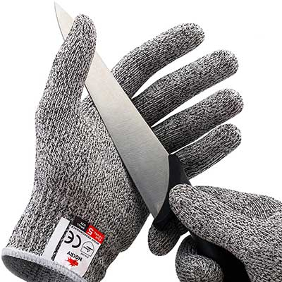 NoCry High-Performance Level 5 Protection Food Grade Cut Resistant Gloves
