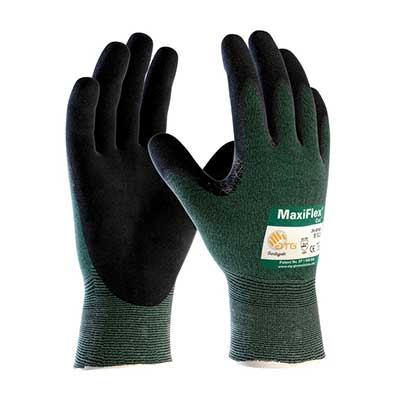 MaxiFlex Cut 34-8743 Nitrile Coated Work Gloves