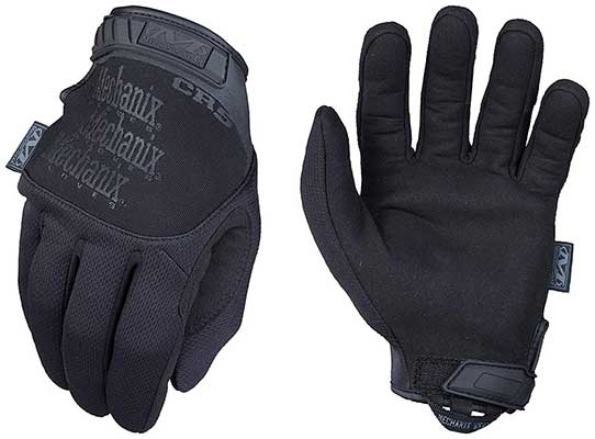 Mechanix Pursuit D5 Black Gloves, Medium