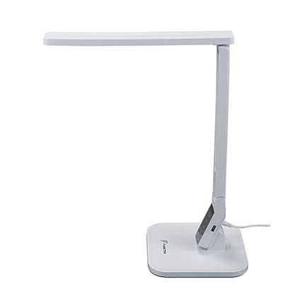 Fugetek FT-L798-W 5-Level Dimmer Touch Control Panel LED Desk Lamp