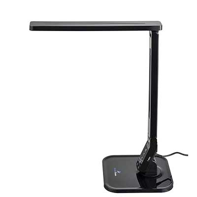 Ambertronix LED Desk Table Lamp with Soft Touch Dimmer Control Panel
