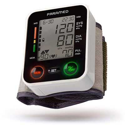Automatic Wrist Blood Pressure Monitor by Paramed