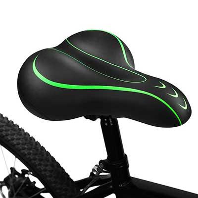 BLUEWIND Comfortable Seat Memory Foam Waterproof Bicycle Saddle