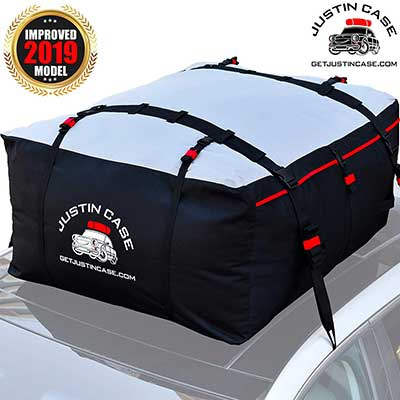 Justin Case Rooftop Cargo Carrier Heavy Duty, Waterproof Bag for Extra Car Roof Storage
