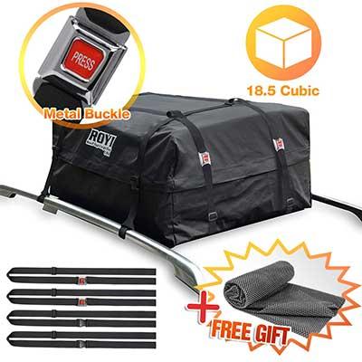 BOVN 18.5 Cubic Ft Dual Seam Waterproof Roof Cargo Bag