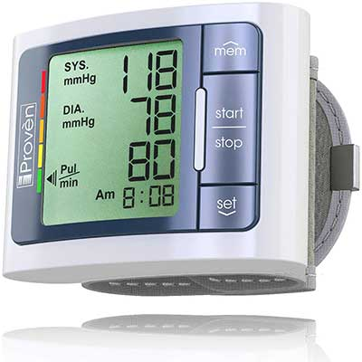 New iProven Wrist Blood Pressure Monitor Watch