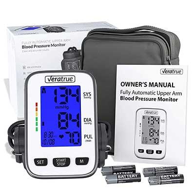 Upper Arm Blood Pressure Monitor by Veratrue