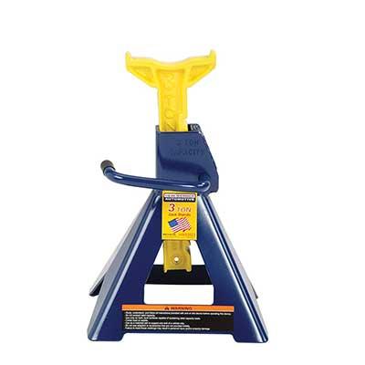 Hein-Werner 3 Ton HW93503 Blue/Yellow Jack Stand