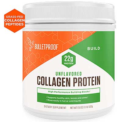 Bulletproof Unflavored Keto-Friendly Collagen Protein Powder