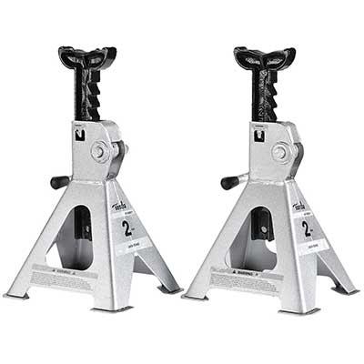 TONDA Steel 2 T Capacity Jack Stands,