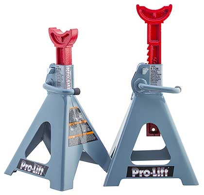 Pro-LifT T-6906D 6-Ton Double Pin Jack Stand