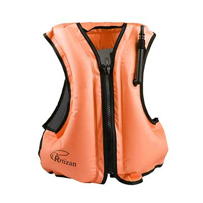 Rrtisan Adult Inflatable Swing Vest Life Jacket
