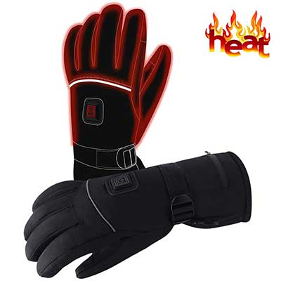 Autocastle Rechargeable Electric Winter Sport Thermal Insulate Gloves for Men & Women