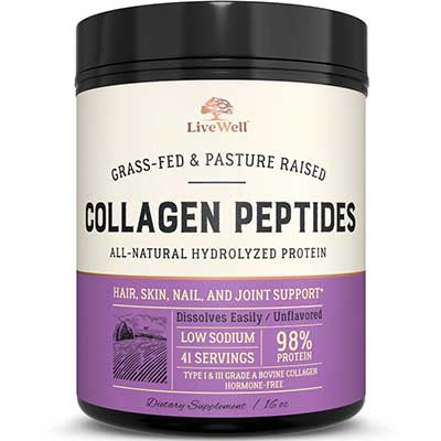 LiveWell Labs Nutrition Type I & III Collagen Peptides
