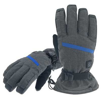 Aroma Season Rechargeable Battery Powered Winter Gloves for Outdoor Activities
