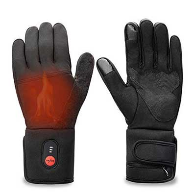 Sun Will Electric Battery Heated Riding Thin Gloves Liners