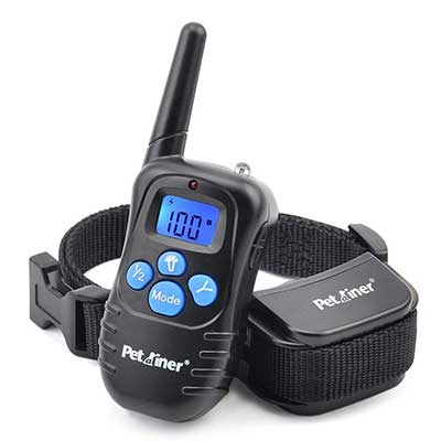 Petrainer Dog Shock Collar 1000 ft. Remote Trainer Range
