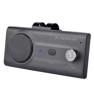 Avantree CK11 Hands-Free Bluetooth Wireless in Car Handsfree Speaker