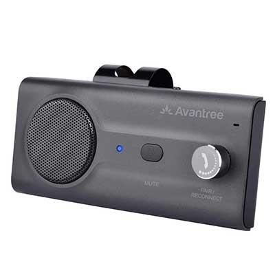 Avantree CK11 Hands-Free Bluetooth Wireless in Car Handsfree Speaker