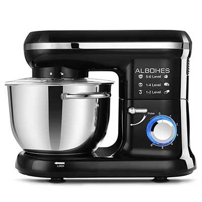 ALBOHES 600WTilt-Head Dough Mixer