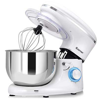 COSTWAY Stand Mixer 660W 6-Speed Electric Mixer