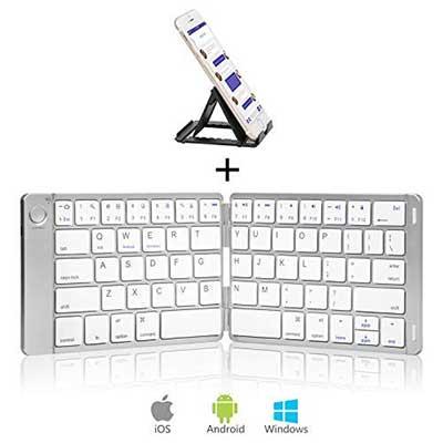 Sounwill Foldable Wireless Portable Keyboard