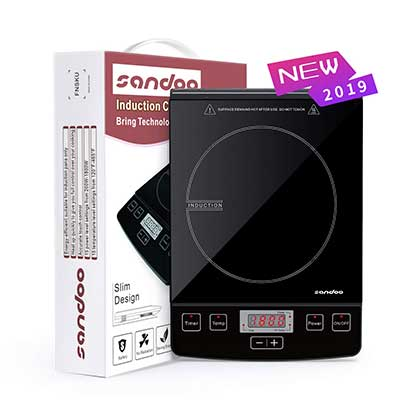 Sandoo HA1865 Lightweight Portable Induction Cooker