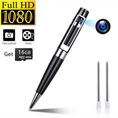 Facamword Spy Camera Pen Hidden Cameras Video Recorder