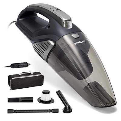 GridLite 5000PA DC 12V Wet/Dry Handheld Car Vacuum