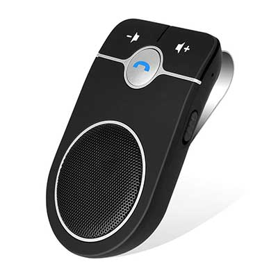 Aigital Bluetooth Handsfree Speakerphone with Built-in Mic