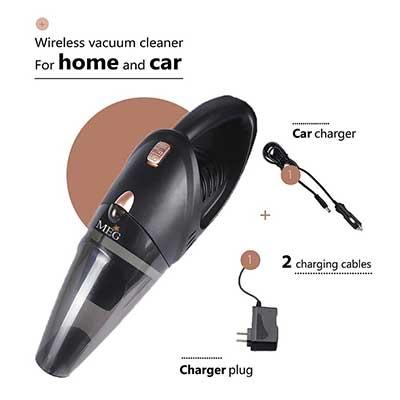 MEG Handheld Cordless Rechargeable Car Vacuum