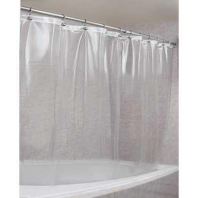 Epica Mildew Resistant Shower Curtain Liner