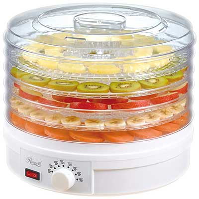 Rosewill Countertop Portable Electric Food Fruit Dehydrator