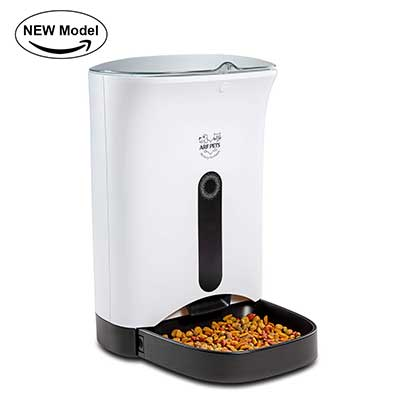Arf Pets Automatic Food Dispenser for Dogs, Cats & Small Animals