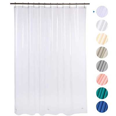 Amazer EVA 8G Shower Curtain with Clear Stones