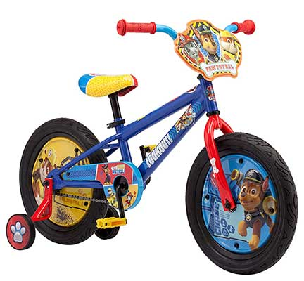 Nickelodeon Kids Paw Patrol Bicycle