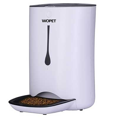 WOPET Automatic Programmable Pet Feeder Food Dispenser