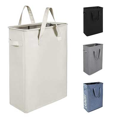 Chrislley 45L Slim Laundry Hamper