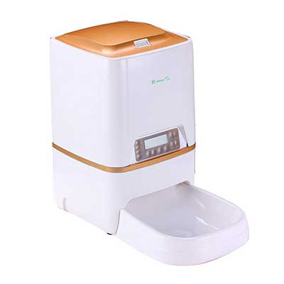 BELOPEZZ 6L Smart Pet Automatic Feeders Food Dispenser