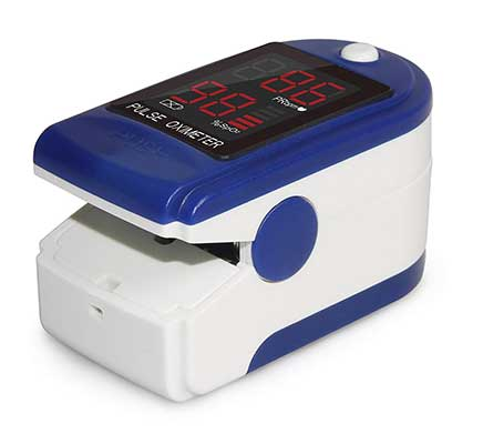 CMS 50-DL Pulse Oximeter with Neck and Wrist cord